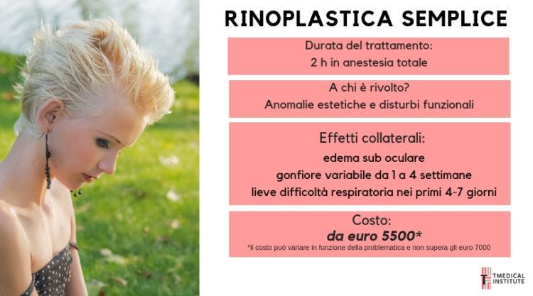 Rinosettoplastica TMedical Institute