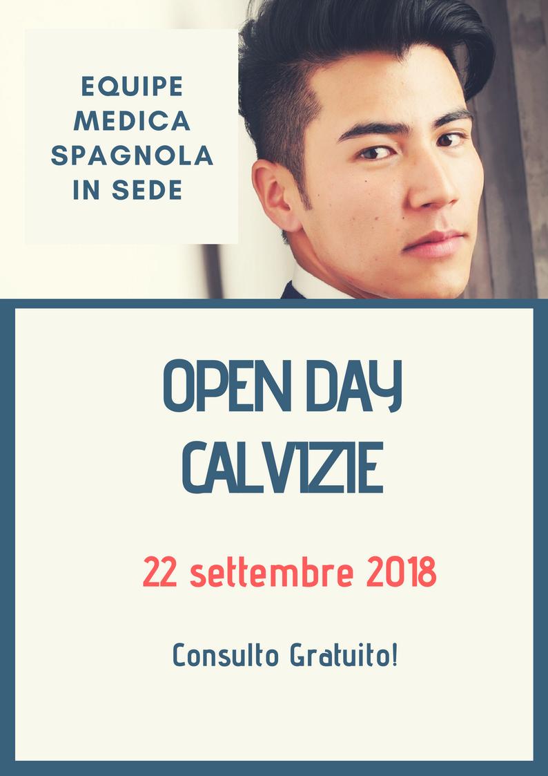 open day calvizie 22 settembre 2018