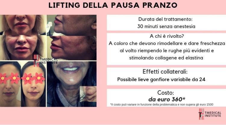TMedical Institute- LIFTING DELLA PAUSA PRANZO